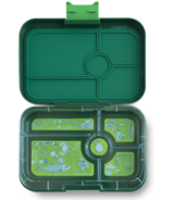 Yumbox Tapas 5-Compartment Brooklyn Green