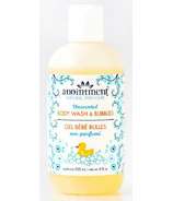 Anointment Natural Skin Care Unscented Bubble Bath & Body Wash