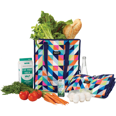 PackIt Grocery Bag Paradise Breeze
