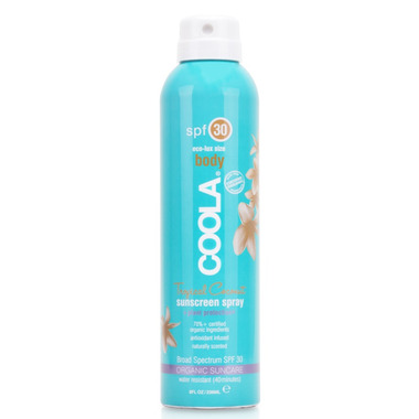 COOLA Tropical Coconut Classic Body Sunscreen Spray SPF 30