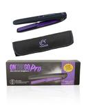 Le Angelique Inc. On The Go Pro Mini Wireless USB Straightener Purple