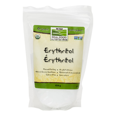 NOW Real Food Organic Erythritol