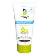 Kalaya Naturals 6X Extra Strength Pain Relief Travel
