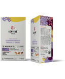 Genuine Tea Organic Elderberry Hibiscus Herbal Tea