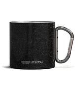 Asobu Campfire Carabiner Mug Black