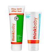 thinkbaby Safe SPF 50 Sunscreen & Aloe Bundle