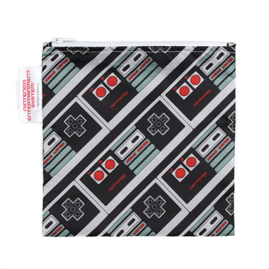 Bumkins Nintendo Reusable Snack Bag Large NES Controller