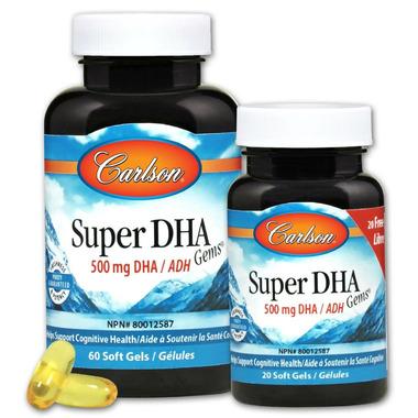 Carlson Super DHA Gems Bonus Pack