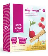 Chomps à l'avoine, betteraves & framboises de Love Child Organics