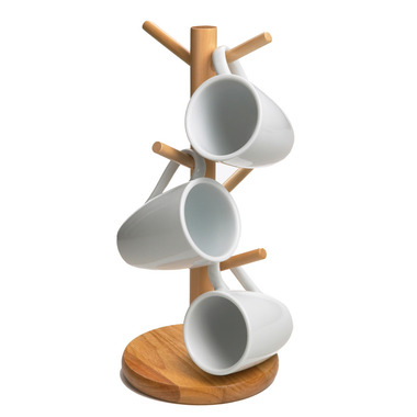 Wooden Mug Tree