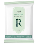 Rael Natural Flushable Feminine Cleansing Wipes