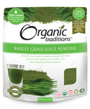 Organic Traditions Barley Grass Juice Powder