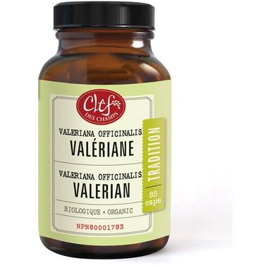 Clef des Champs Organic Valerian Capsules