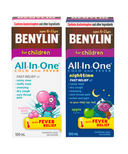 Benylin Children's Cold & Fever Syrup Day + Night Bundle