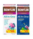 Benylin Children's Cold & Fever Syrup Day + Night Bundle