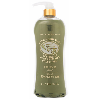 Upper Canada Soap Hand and Body Wash Olive Leaf