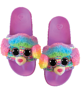 Ty Fashion Rainbow the Poodle Sequin Slides