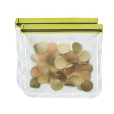 (re)zip Lay-Flat Lunch Leakproof Reusable Storage Bag Green