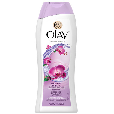 Olay Fresh Outlast Soothing Orchid & Black Currant Body Wash