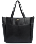 Freshly Picked Classic Carryall Diaper Bag Ebony