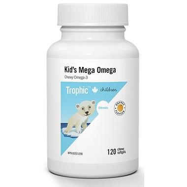 Trophic Kid\'s Mega Omega Chewy Omega-3