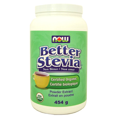 NOW BetterStevia Organic Extract Powder