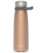 S'well Traveler Stainless Steel Wide Mouth Bottle Pyrite