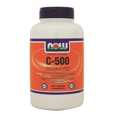 NOW Foods Chewable C-500