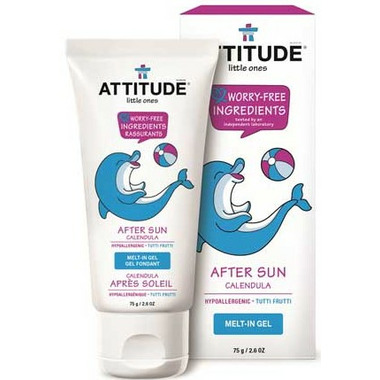 ATTITUDE Little Ones After Sun Calendula Melt-in Gel Tutti Frutti