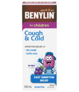 Benylin for Children Cough & Cold Syrup