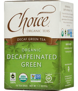 Choice Organic Teas Decaffeinated Green Tea