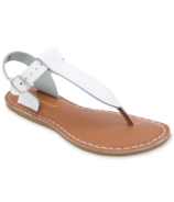 Salt Water Sandals T-Thong Adult White