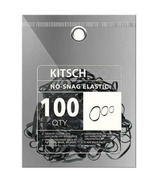 Kitsch No Snag Elastics Black