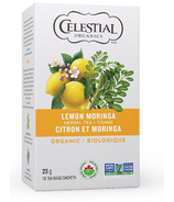 Celestial Seasonings Organic Lemon Moringa Herbal Tea