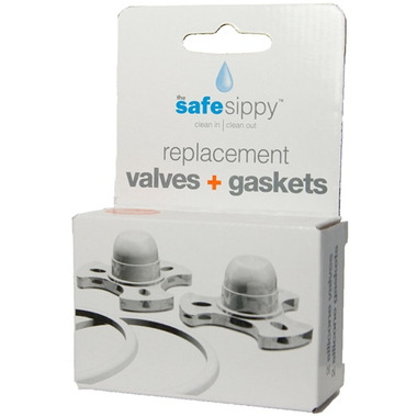 Kid Basix Safe Sippy Replacement Valves + Gaskets