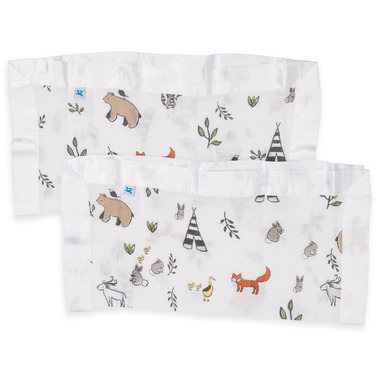 Little Unicorn Cotton Muslin Security Blankets Forest Friends