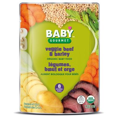 Baby Gourmet Vegetable, Beef & Barley