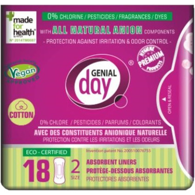 Genial Day Absorbent Liners