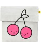 Fluf Flip Snack Bag Cherries Pink