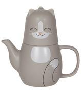 Now Designs Tea Set Pekoe Cat