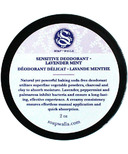 Soapwalla Sensitive Skin Deodorant Cream Lavender Mint