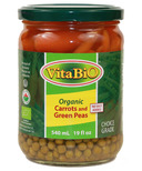 VitaBio Organic Carrots and Green Peas