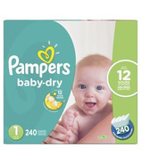 Pampers Baby Dry Economy Plus Pack Size 1