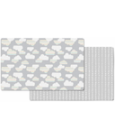 Skip Hop Doubleplay Reversible Play Mat Clouds & Mini Dots