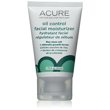 Acure Oil Control Facial Moisturizer Lilac Extract + Chlorella