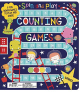 Make Believe Ideas Spin and Play Counting Games Activity Book