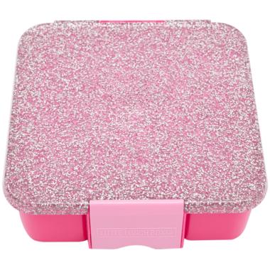 Little Lunch Box Co. Bento Five Pink Glitter