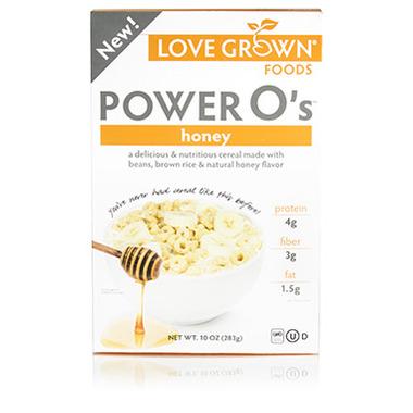 Love Grown Foods Power O\'s Honey