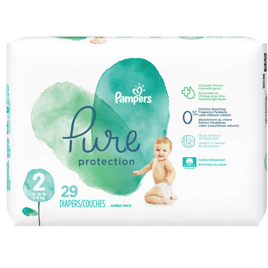 Pampers Pure Protection Diapers Jumbo Pack