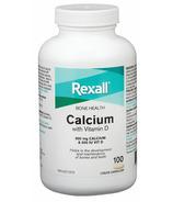 Rexall Calcium with Vitamin D LiquGel